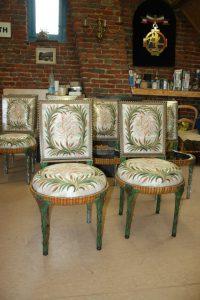 Chaises Louis XVI suite