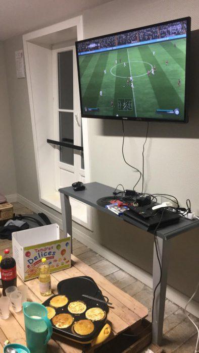 Soirée FIFA et crêpe party