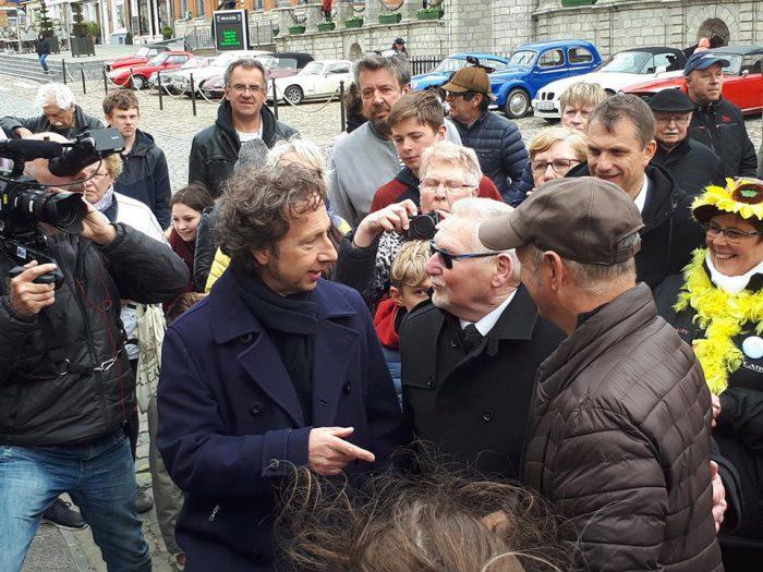 Visite de Stéphane BERN