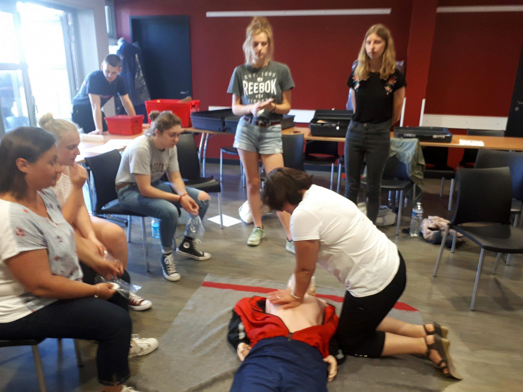 Formation du personnel aux premiers secours