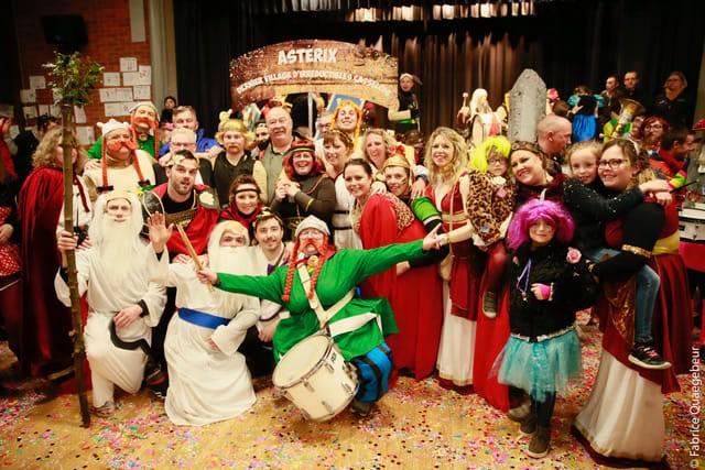 Carnaval d'hiver : Groupes du Samedi après-midi