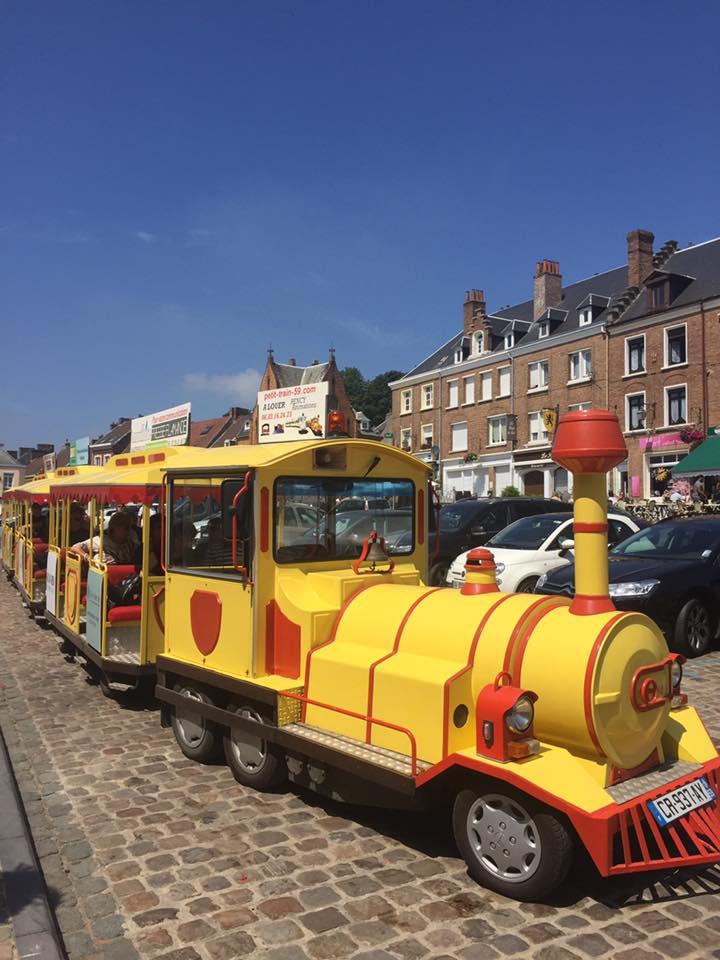 Balade en petit train touristique