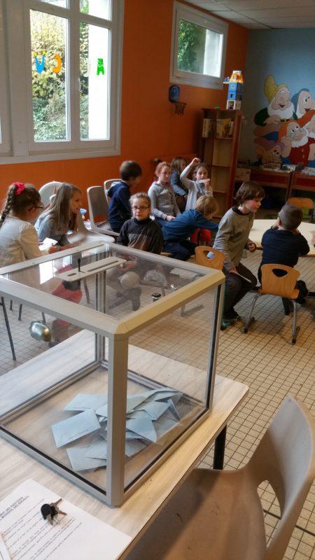Elections du Conseil Municipal des Enfants
