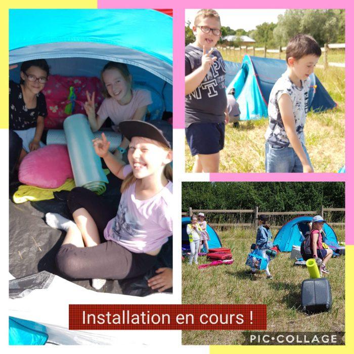 Accueil de loisirs : Camping à Clairmarais